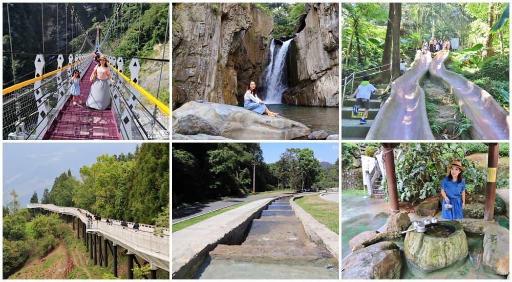 南投戶外景點》南投TOP8森林步道推薦,瀑布秘境,走入大自然能量景點