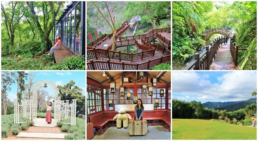 2021尖石一日遊》放假玩尖石景點,老鷹溪步道,花園下午茶,薰衣草森林一日遊