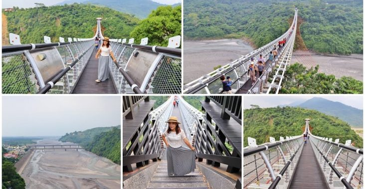 屏東》相約試膽!山川琉璃吊橋美的太有特色,開闊溪谷、美麗山林一次收錄~ @小兔小安*旅遊札記
