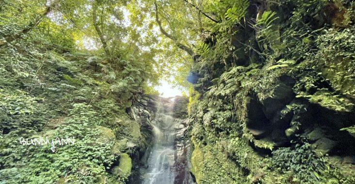 基隆絕對秘境!七堵泰安瀑布,10分鐘賞山谷飛瀑,溪畔漫遊好愜意 @小兔小安*旅遊札記