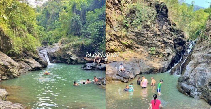 屏東牛角溪瀑布群,免費玩水地點,玩溯溪和登山去處 @小兔小安*旅遊札記