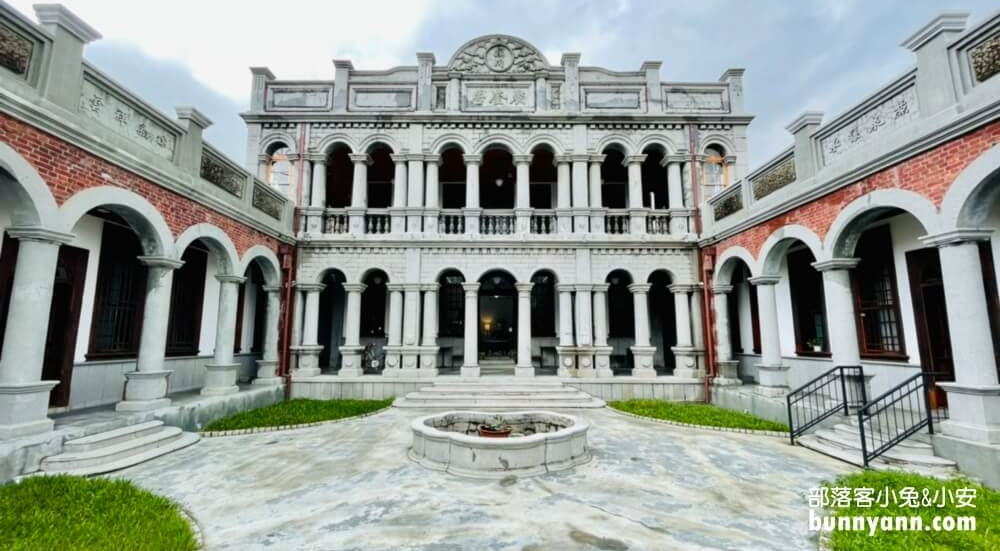 台中景點》聚奎居,烏日全新婚紗景點,門票親民的洋樓古蹟