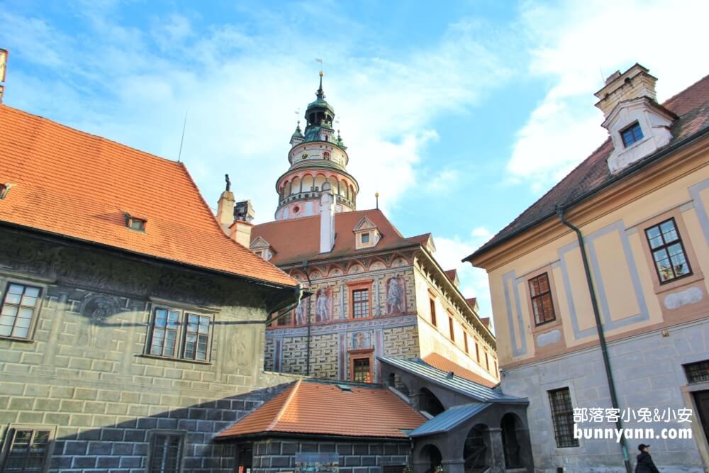 捷克景點》庫倫洛夫CK小鎮,最浪漫的波希米亞小鎮,童話王國漫遊去