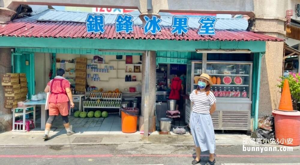 網站近期文章:鹽水美食》銀鋒冰果室和白雪冰菓室,西瓜檸檬&香蕉清冰好吃