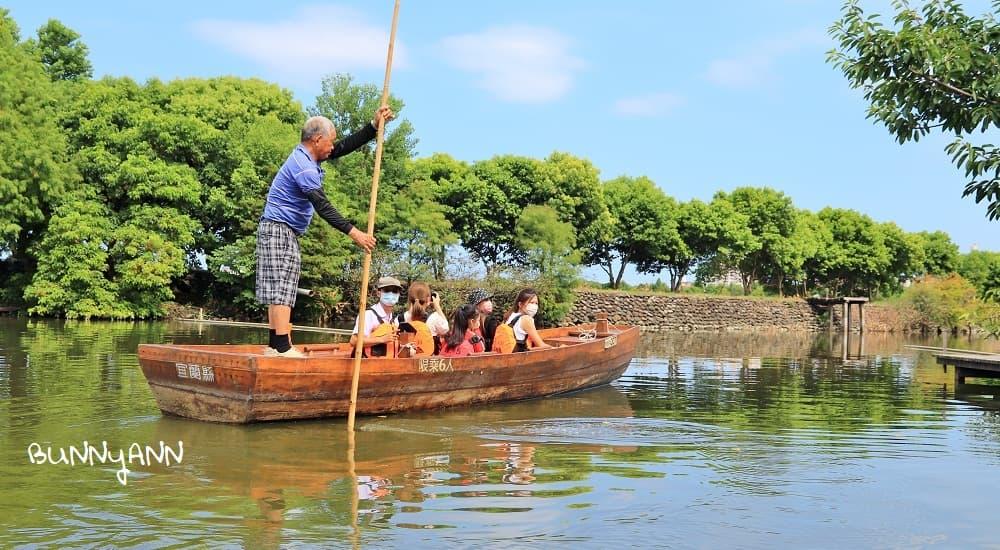 宜蘭新秘境》冬山河休閒農業區兩天一夜,鴨母船河道漂流,鴨寮餵小鴨吃飯
