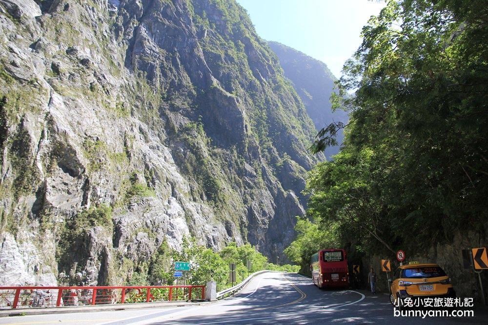 花蓮景點》太魯閣燕子口步道,鬼斧神工大峽谷景色,中橫必訪絕美景點~