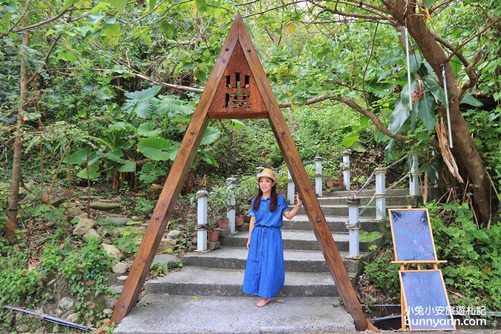 花蓮景點》最新打卡秘境!壽豐山度空間,三角木帳篷、球形玻璃鞦韆,提著野餐籃放空去~