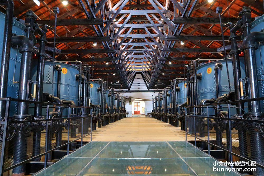 台南新景點》台南水道博物館,暢玩戲水池和水道咖啡館,歐洲工業風打卡場景超美!