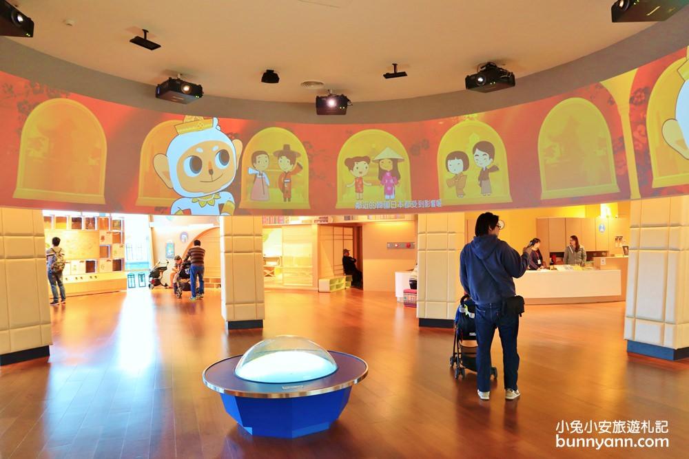 嘉義景點》唯美雙色湖水!隱藏在故宮南院的南國風兒童遊戲室,這裡比想像中有趣~