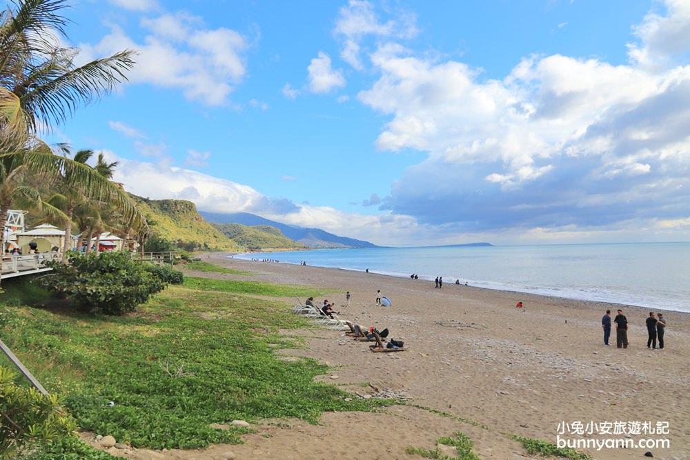 屏東景點》大海好藍!愛琴海岸海景咖啡,無敵看海放空視野,度假就該如此~