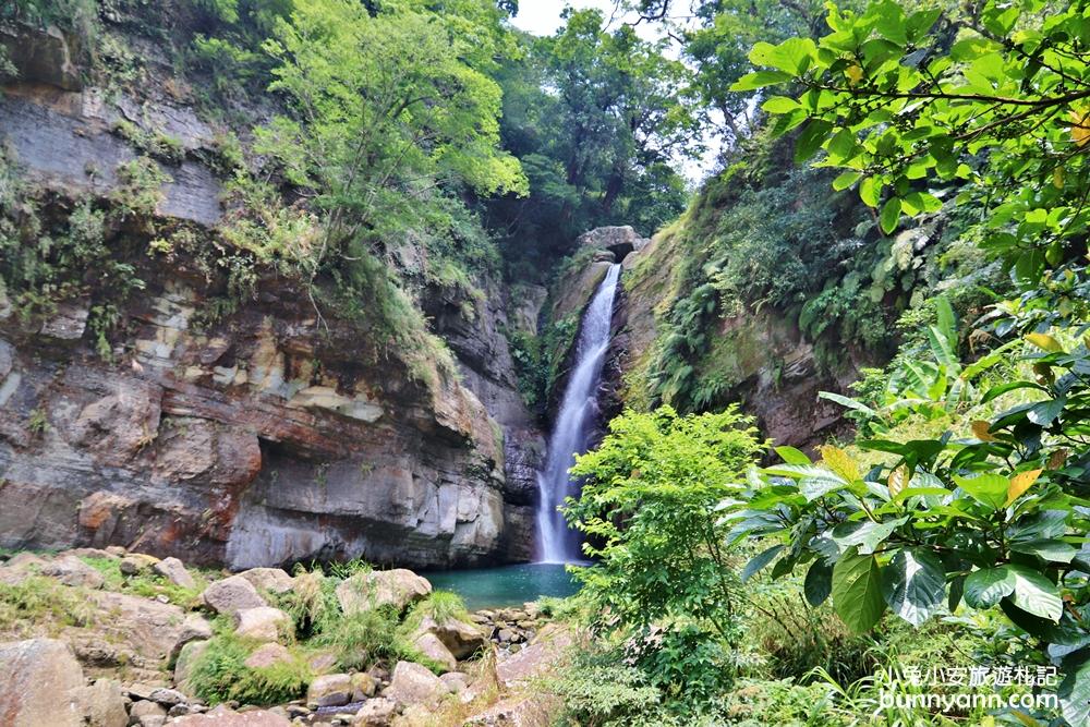 嘉義景點》雲朵裡的瀑布!十分鐘攻略雲潭瀑布,小京都綠色竹林美如仙境~