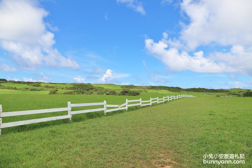 屏東墾丁》美如Windows桌布!水蛙窟大草原無止盡的牧場綠草地,隱藏版打卡秘境~