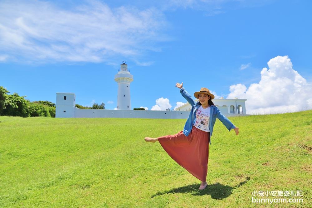 屏東景點》國境之南!墾丁鵝鑾鼻公園台灣最南端燈塔,浪漫白色燈塔,療癒看海視野~