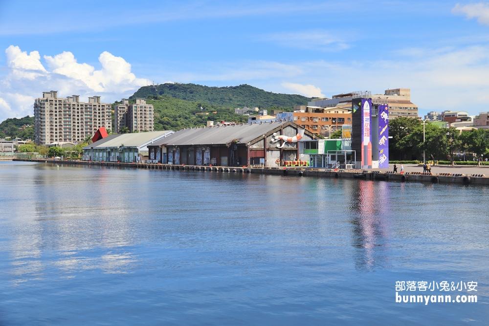 高雄》免門票新景點!會旋轉的大港橋,海面上白色帆船造型超吸睛!
