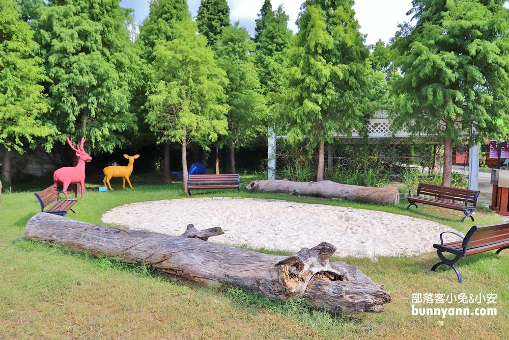 彰化》新免費秘境!唯愛庭園夢幻莊園,白色歐風教堂、戲水池免費玩,親子與網美打卡好去處~