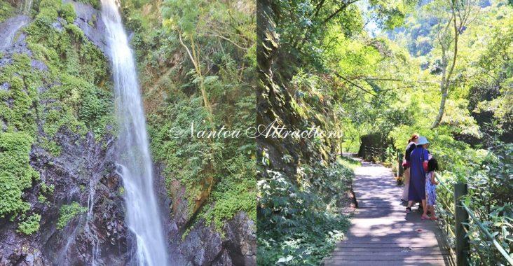 南投》好多瀑布可拍!只要走20分鐘,一次賞夢幻觀音瀑布群,有山有水森呼吸~ @小兔小安*旅遊札記