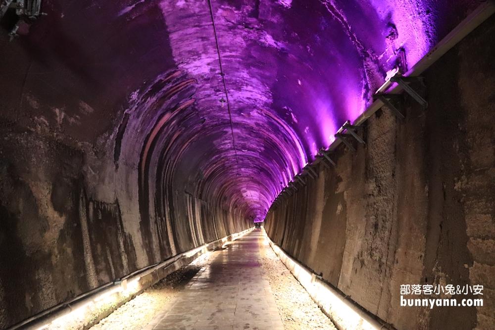 苗栗》一定要去!功維敘隧道穿越七彩霓虹時光,舊台鐵火車、小農市集,一起重返時光隧道~