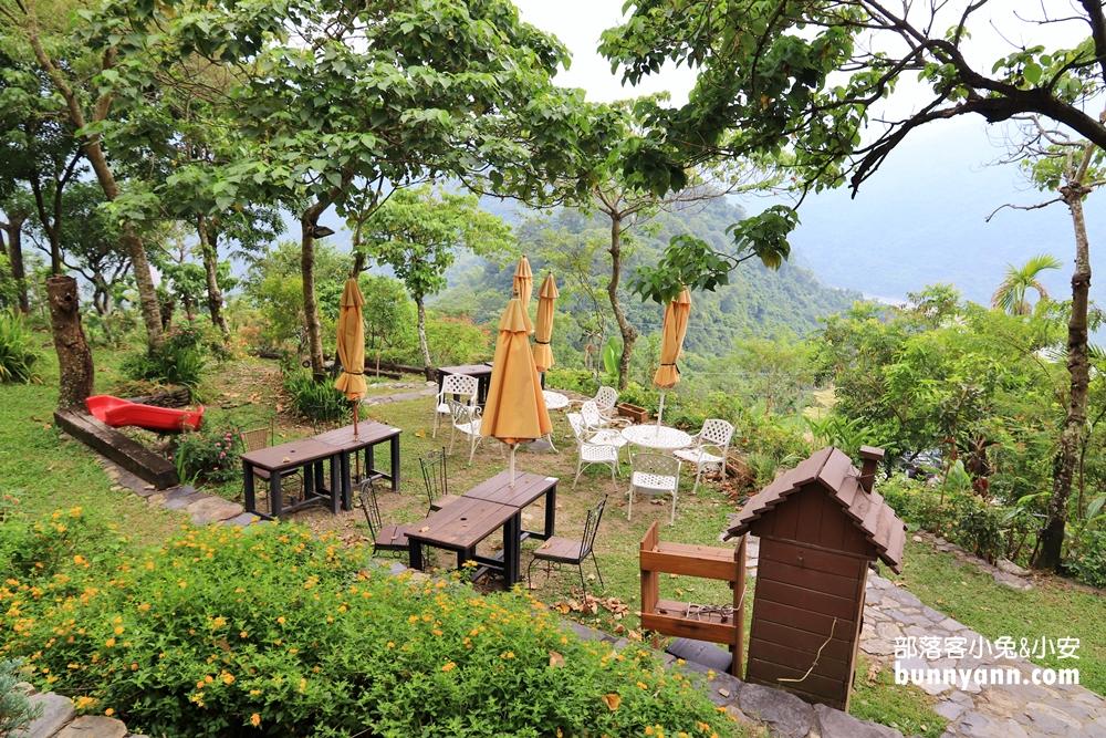 屏東》解憂地點!清靜莊園隱藏山丘上的小木屋咖啡店,無死角視野下午茶好愜意