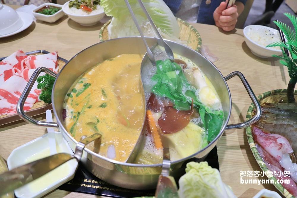 台中》澎湃肉肉鍋!鍋泰山台中崇德店,森林系泰式口味鴛鴦鍋養刁你的味蕾