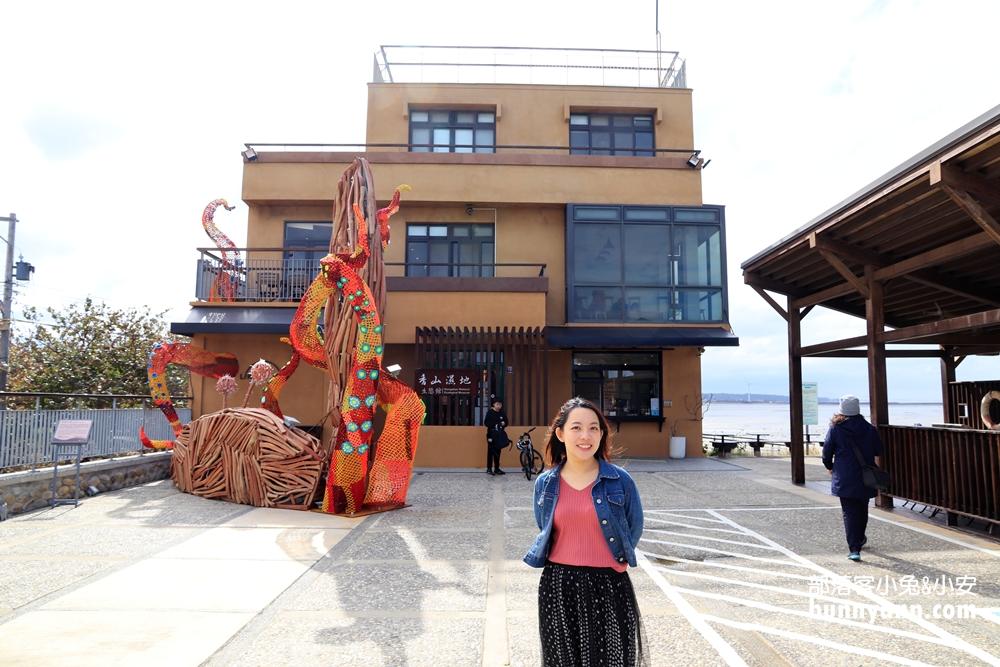 新竹景點》香山濕地賞蟹步道,生態館免費逛,美麗夕陽、濕地鏡面超好拍