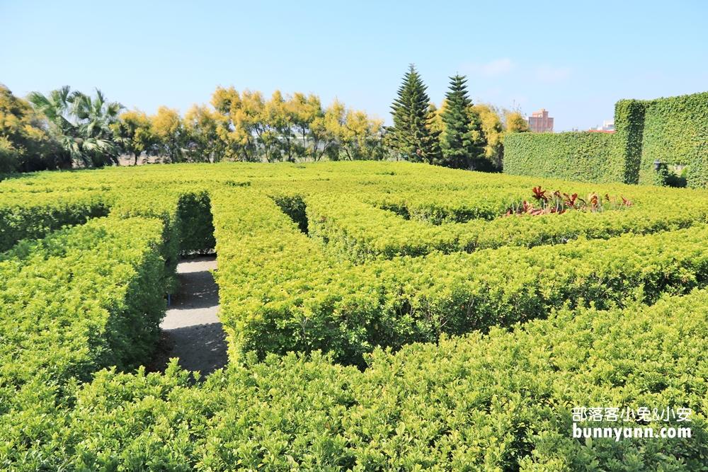 彰化》還有這沒玩到!探索迷宮歐式莊園,花園迷宮、親子沙坑,異國造景好浪漫