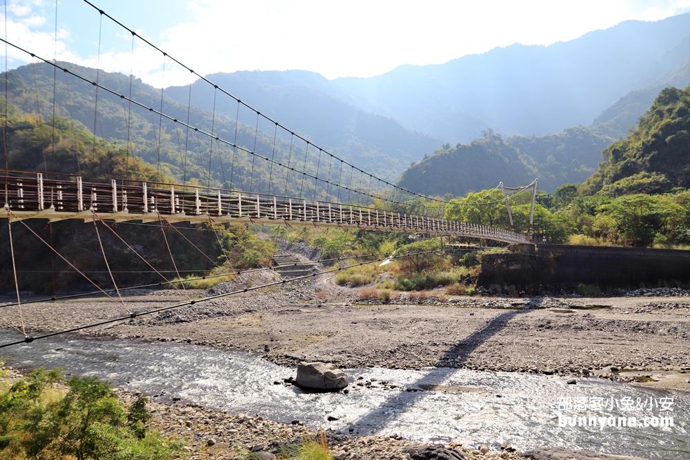 高雄》茂林森有氧!情人谷吊橋與情人谷瀑布,來回一小時兩個景點輕鬆達陣
