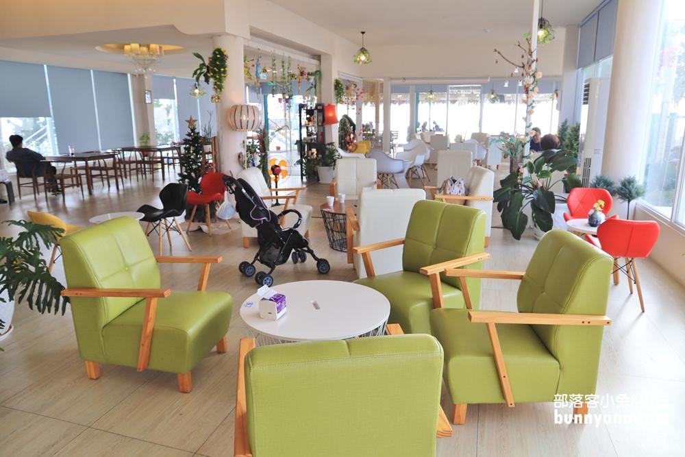 屏東》耍廢來這!茉莉灣海洋cafe,看海發呆好忘憂,峇里島風情超有渡假FU