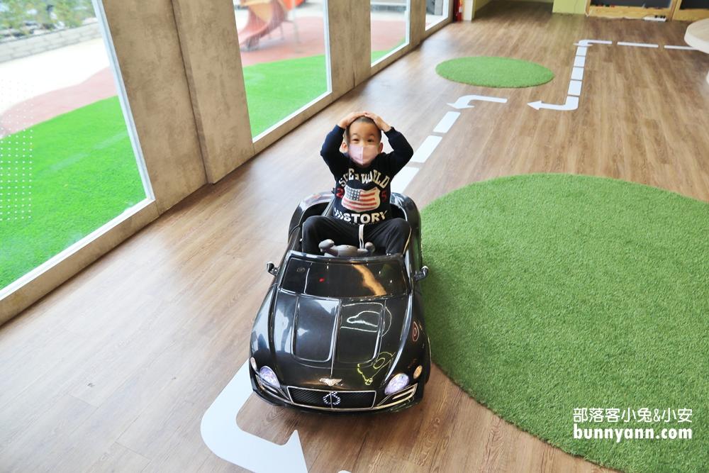 桃園》免費景點!經國特區快閃遛樂KID樂園,6米高溜滑梯、免費玩電動車超棒的!