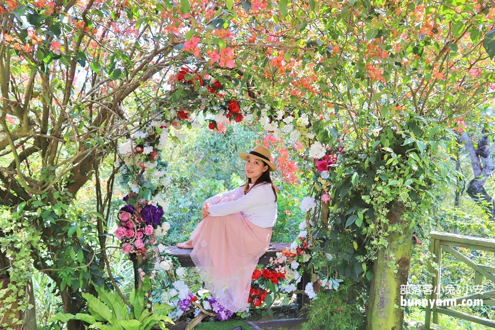 苗栗景點》莫內秘密花園婚紗攝影基地,浪漫歐洲花園,愛神宮殿教堂唯美夢境~