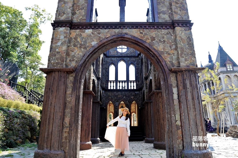 苗栗景點》愛麗絲的天空攝影基地,唯美巴洛克教堂,走入森林裡的夢幻仙境~
