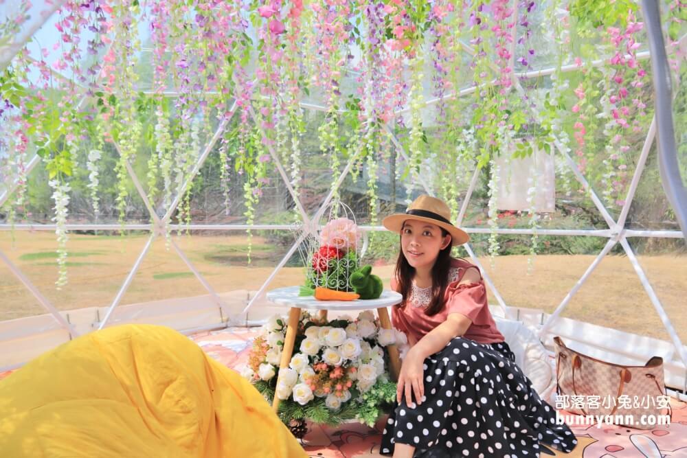 桃園景點|楊梅雅聞魅力博覽館|夢幻玫瑰花園 繽紛泡泡屋|放假來賞花半日遊