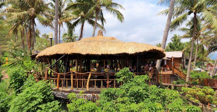 台東可可娜咖啡|看海下午茶來這耍廢,親子沙坑免費玩,南洋島嶼風情好悠閒 @小兔小安*旅遊札記