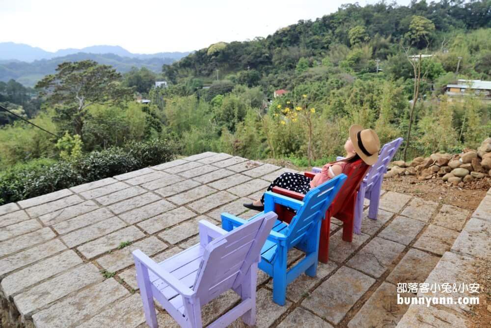 桃園山水奇異民宿|迷你哈比屋,眺望美麗山景,英式下午茶,拉拉山悠閒漫步秘境