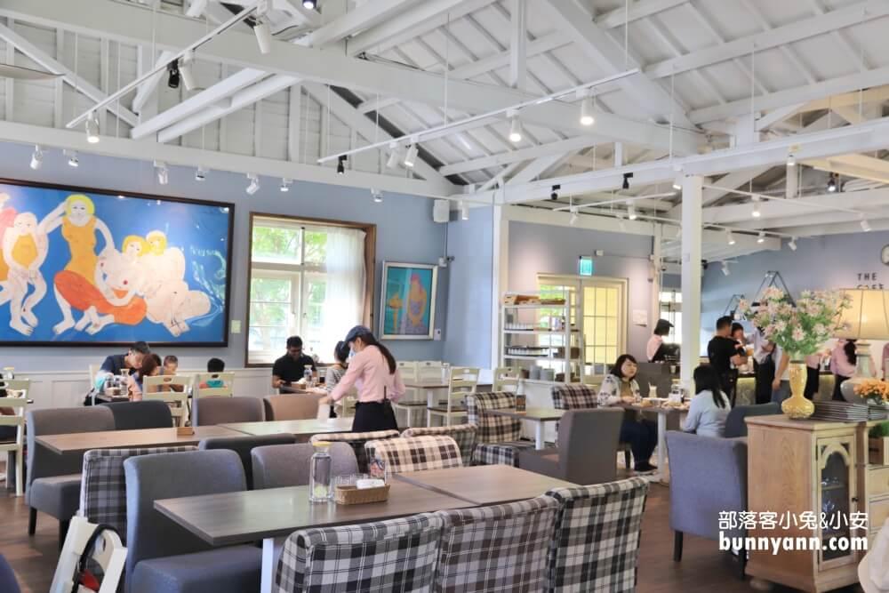 台北美食推薦》The Cafe By 想陽明山,落羽松小白屋下午茶,小熊冰滴咖啡,免費停車好方便