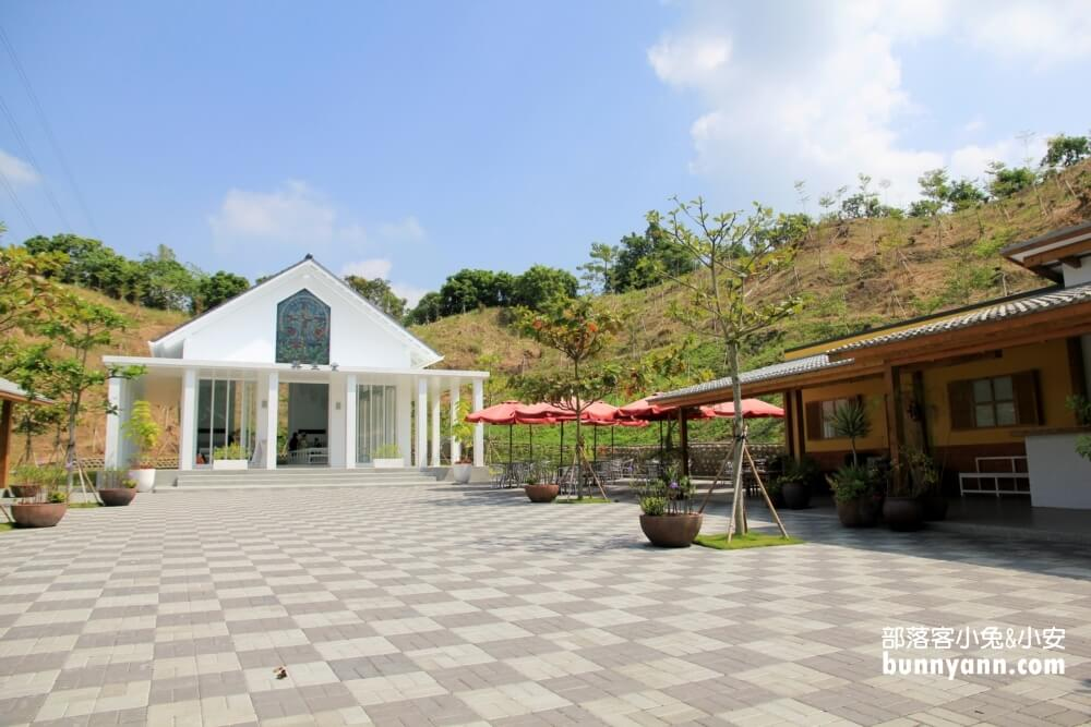 台南景點》玉井隱田山房白色教堂,森林裡的浪漫教堂,日式建築秒飛京都