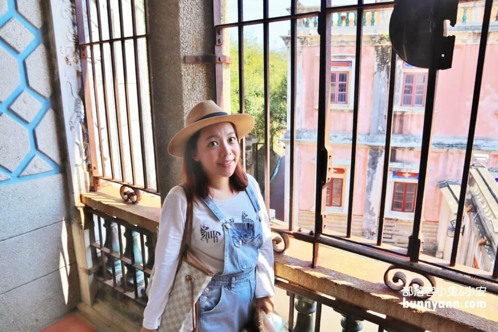 金門景點》水頭聚落得月樓,古色古香洋樓城堡慢旅,金門必訪老宅聚落