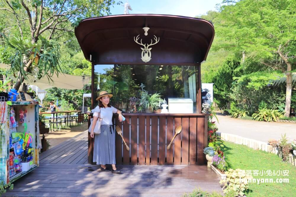 苗栗景點》三義鹿角Cafe,多肉植物巴士,免費玩溜滑梯、沙坑、易開罐小屋、湖畔風光好悠閒