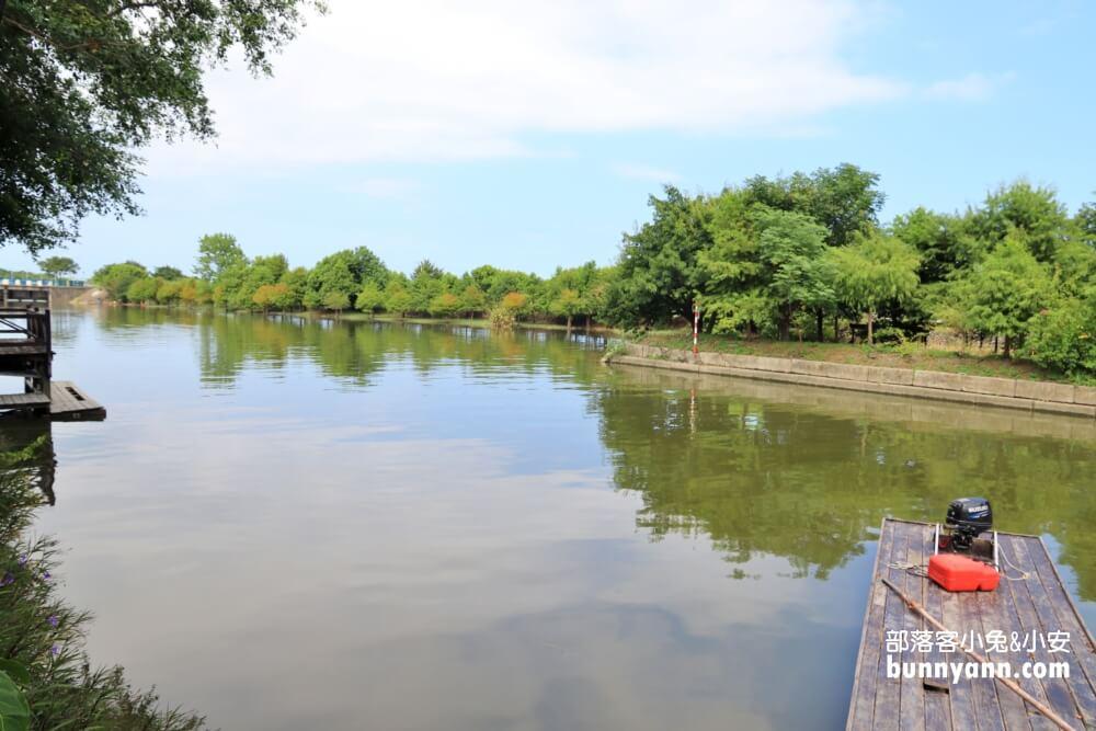 噶瑪蘭小河文明,鴨母船境外漂流,賞冬山河舊河道風景