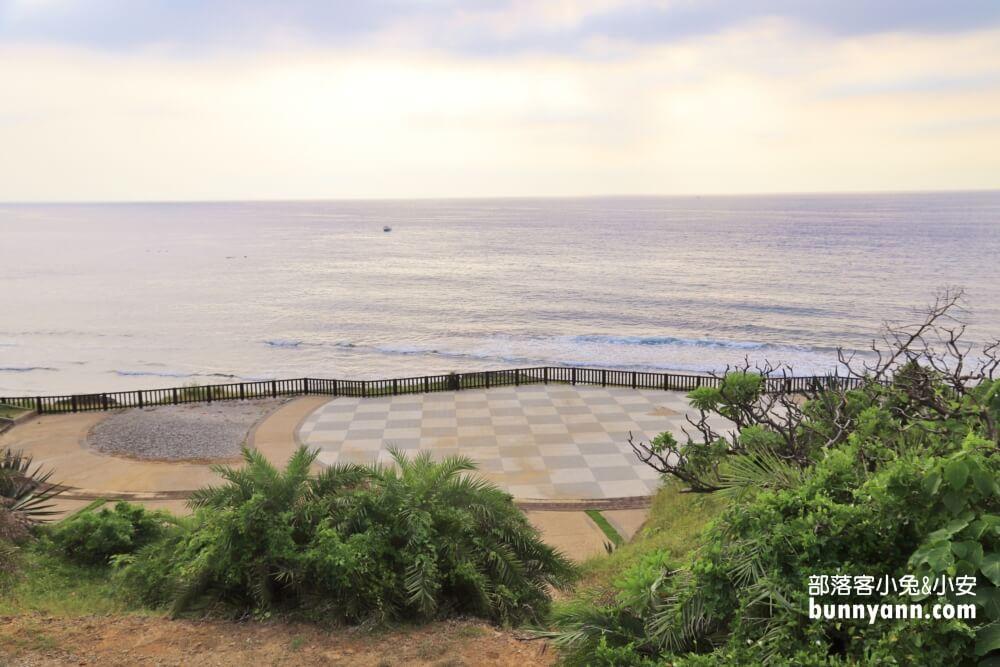山豬溝生態步道&杉福生態廊道,介紹一線天海上夕陽