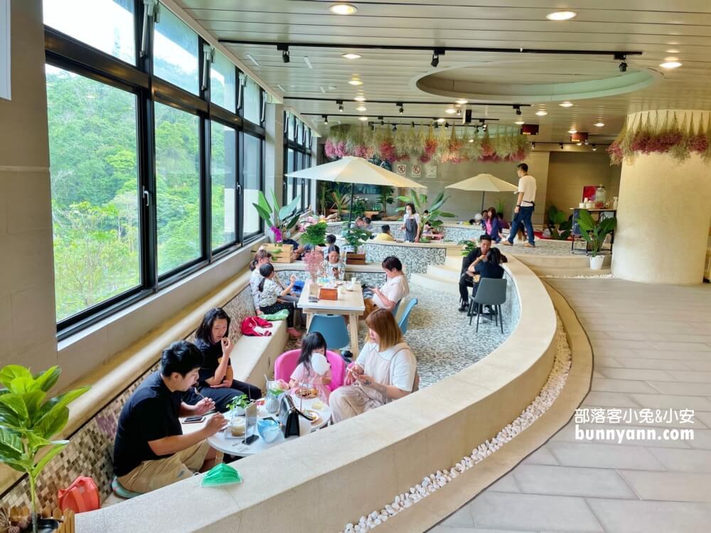 苗栗下午茶|夢幻系咖啡店雲朵森林,乾燥花夏日風,甜甜蜜糖吐司,午後耍廢好去處