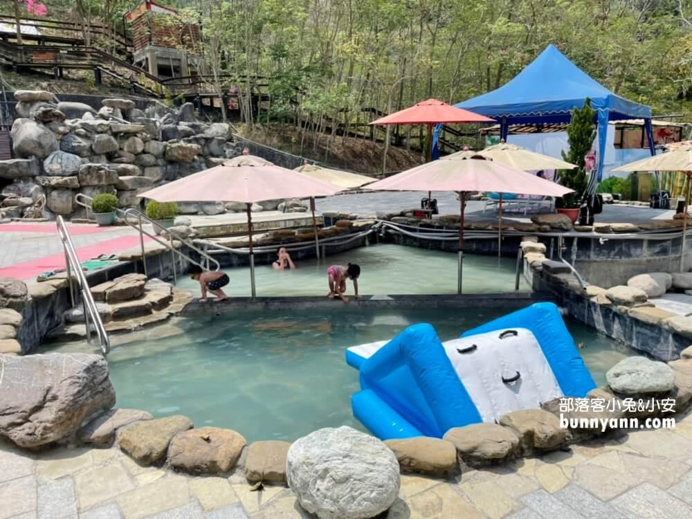 嘉義中崙澐水溪溫泉|澐水大自然溫泉區,泥漿溫泉好舒服,邊泡腳賞風景好愜意