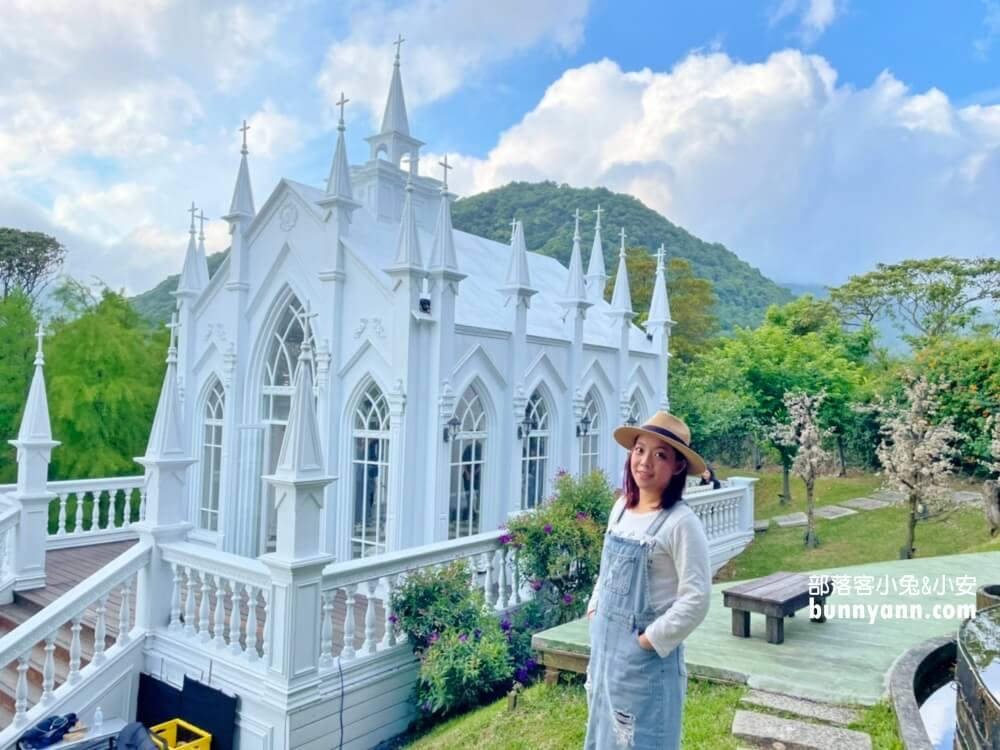 台北景點》真愛桃花源,唯美歌德式教堂,烏克蘭愛情隧道,走入浪漫仙境
