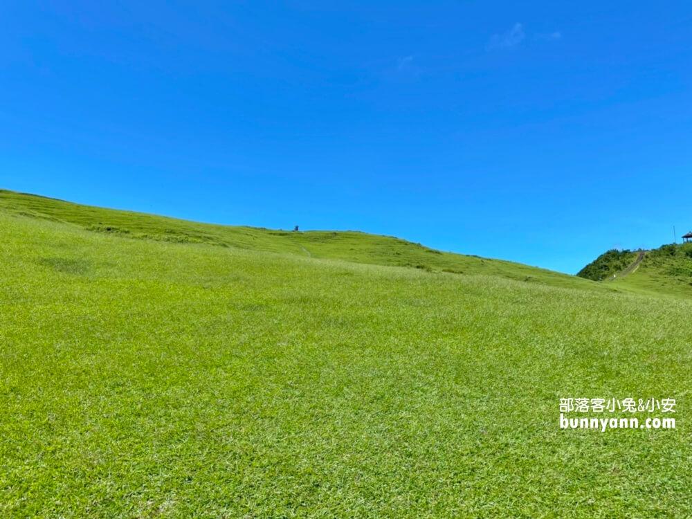 新北景點》桃源谷步道內寮線,半小時攻頂山陵線,眺望北台灣最美大草原
