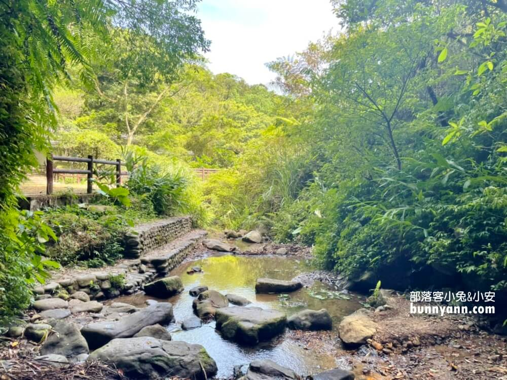 基隆絕對秘境!七堵泰安瀑布,10分鐘賞山谷飛瀑,溪畔漫遊好愜意
