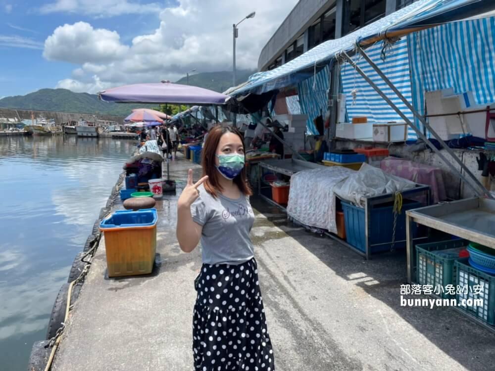 宜蘭景點》大溪漁港首推鮟鱇魚零失敗料理,新鮮漁貨和海鮮美食一把抓