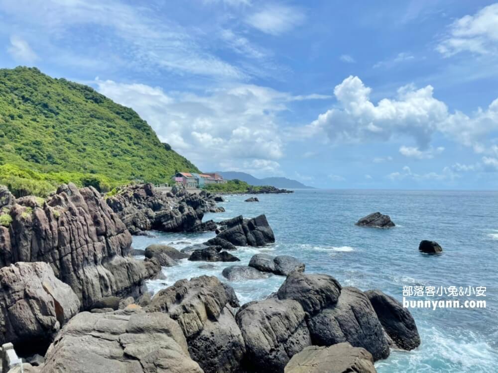 宜蘭景點》北關海潮公園,一線天秘境,美麗海岸步道,礁岩海景私房秘境
