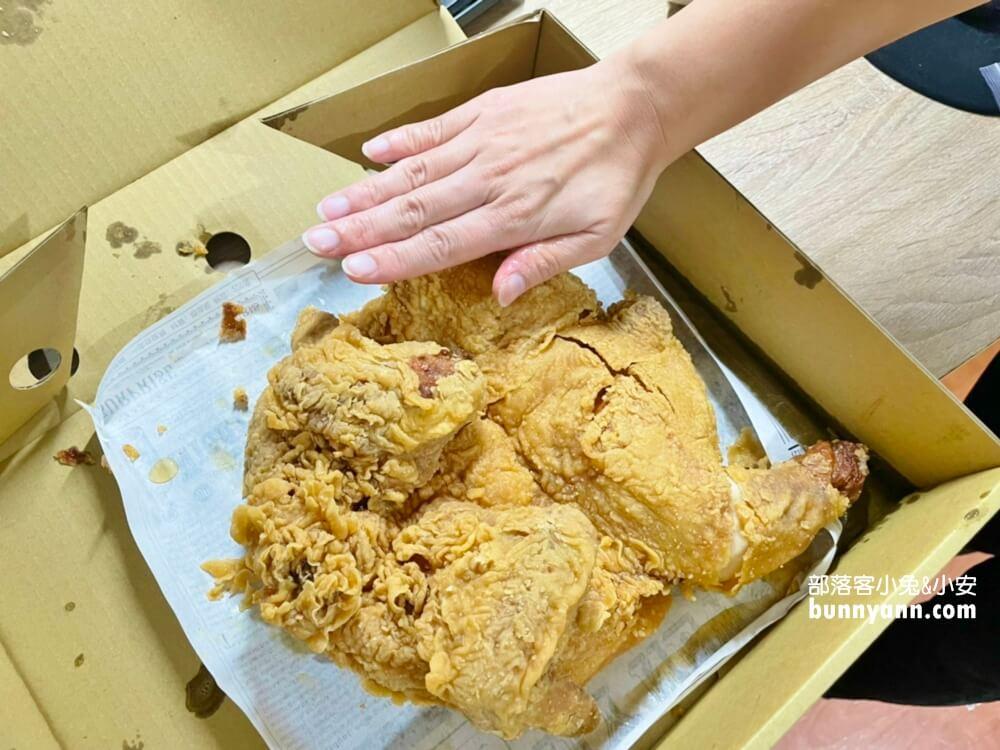 基隆美食》老司雞炸全雞專賣店,浮誇炸全雞脆皮又多汁,美味上桌給你看