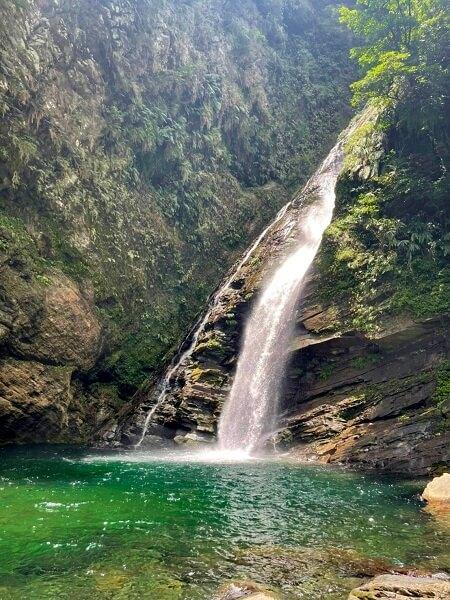 宜蘭景點》絕對美境!澳花瀑布,仙境版超美森林瀑布,南澳登山健走賞飛瀑好地方