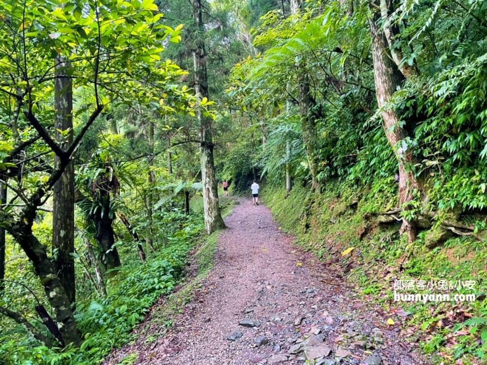 新北》吸收負離子!滿月圓國家森林遊樂區,悠閒賞山谷飛瀑,溪畔步道健走好忘憂