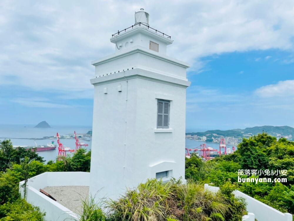 基隆球子山燈塔,輕鬆解鎖火號山頂,無死角眺望基隆嶼美麗海景